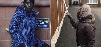Neighbour from hell! Woman, 54, who tormented her neighbours jailed for 22 weeks, freed day later (photos)
