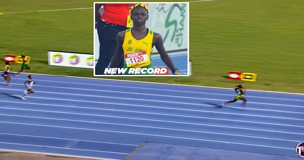 Awesome! Girl, 12, sets astonishing RECORD in sprint race (photos, video)