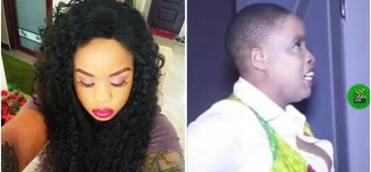 Nairobi Diaries actress Bridget Achieng caught on camera looking like an old woman despite KSh 3 million bleaching