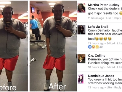 """How to be You Po?"" Netizen Goes Viral for Posting Shocking ""Before-and-After"" Gym Photo!"