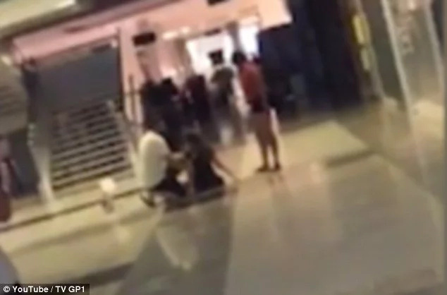 Woman storms out of cinema screaming and punching herself after watching new horror movie