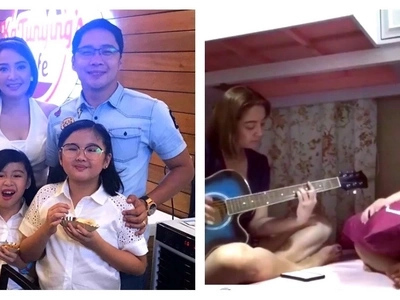 Pwedeng maging child star! Anthony Taberna shared an epic video of his wife Rossel and their daughter Zoey performing a song from 'Moana'