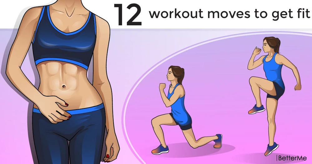 12 workout moves to get fit