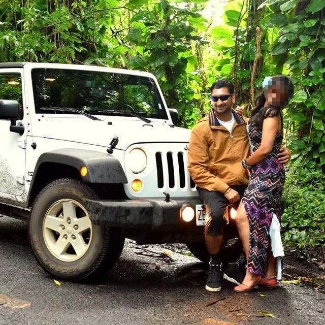 Devbir and his wife Gaind. Photo: Facebook/Devbir Kalsi