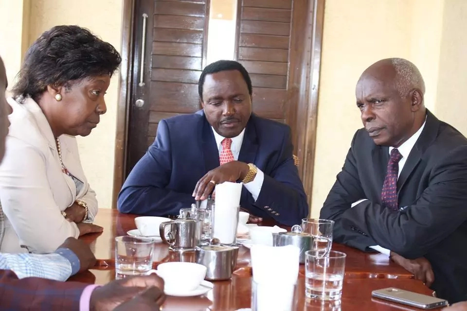 Do this if you want us to stay in NASA, Kalonzo's camp issues fresh demands