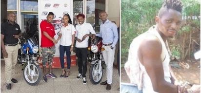 Kenya's Diamond Look-alike lands mouth-watering deal with a motor company days after TUKO.co.ke featured him