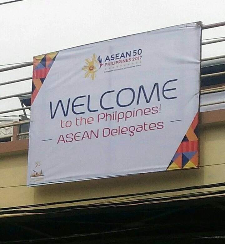 "VIRAL: Welcome tarps for ASEAN misspelled ""Philippines"""
