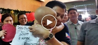 Duterte makes netizens cry after embracing cancer patients during Christmas visit