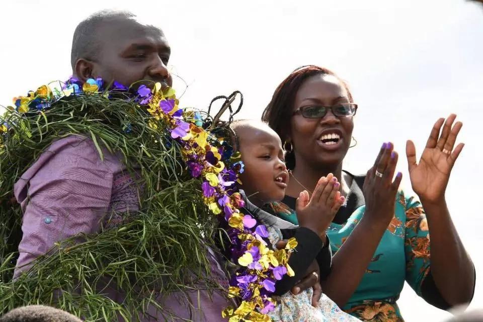 Mwandani wa William Ruto asherehekea kwa njia ya kipekee baada ya kushinda kura za mchujo