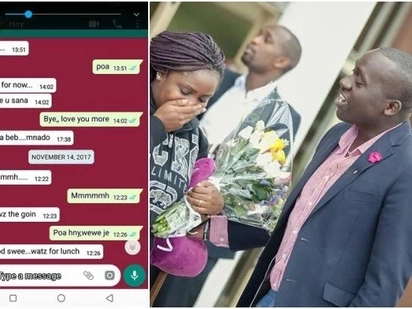 Kenyan women on Facebook compete on who is married to the most romantic man by leaking private messages