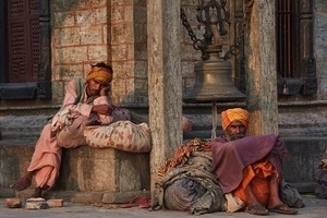 See HOLY MEN who renounced worldly goods and pleasures to devote their lives to God (photos, video)