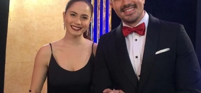 Hindi kami matitinag! Luis Manzano and Jessy Mendiola happily attend the 10th Star Magic Ball