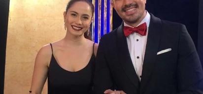 Hindi kami matitinag! Luis Manzano and Jessy Mendiola happily attend the 10th Star Magic Ball