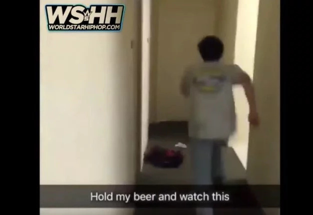 Worst Friend In The World Breaks Into Room Where His Friend Was Having Sex