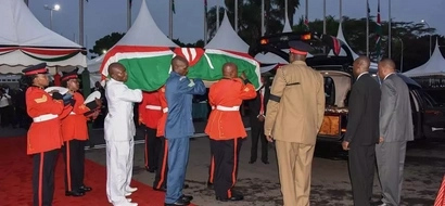 Lucy Kibaki's body arrives in Kenya, burial date released