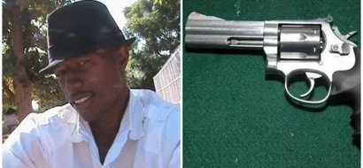 Man, 28, SHOOTS himself dead after crashing his uncle's car (photo)