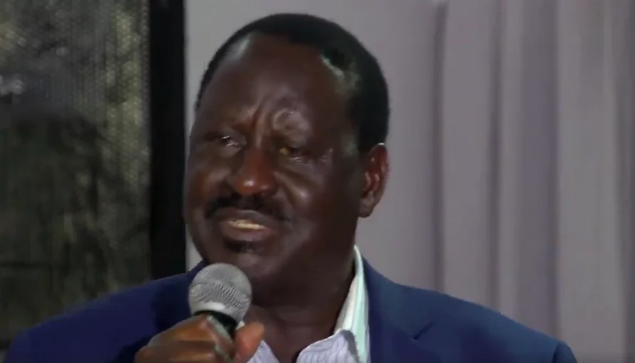 Raila's tears flow freely as he donates KSh 1 million for killed NASA supporters