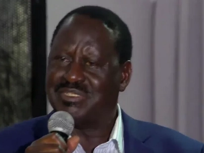 Emotional Raila lets tears flow as he mourns killed NASA supporters