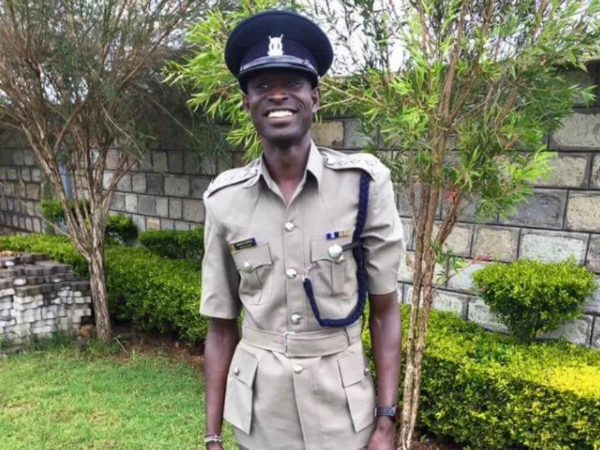 Kenyans react to David Rudisha's photo in police uniform