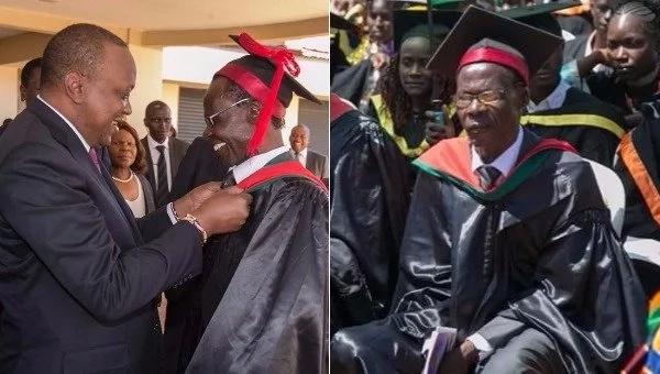 Aliyekuwa mbunge wa Bumula Bifwoli Wakoli afuzu kwsa shahada ya uzamili, Matiang'i ampongeza
