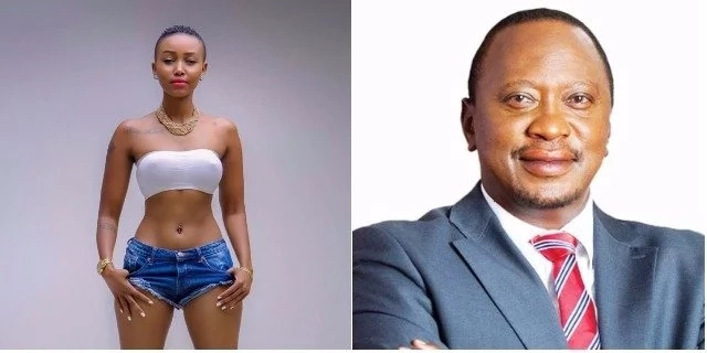 I want to be Uhuru Kenyatta's second wife- Socialite declares