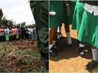 DISTURBING details of the schoolgirl whose body was found dumped near her home in Murang'a