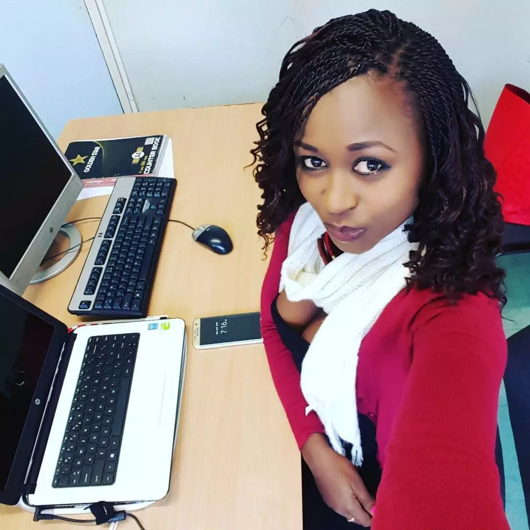 Kenya's prettiest cop shares more sexy photos