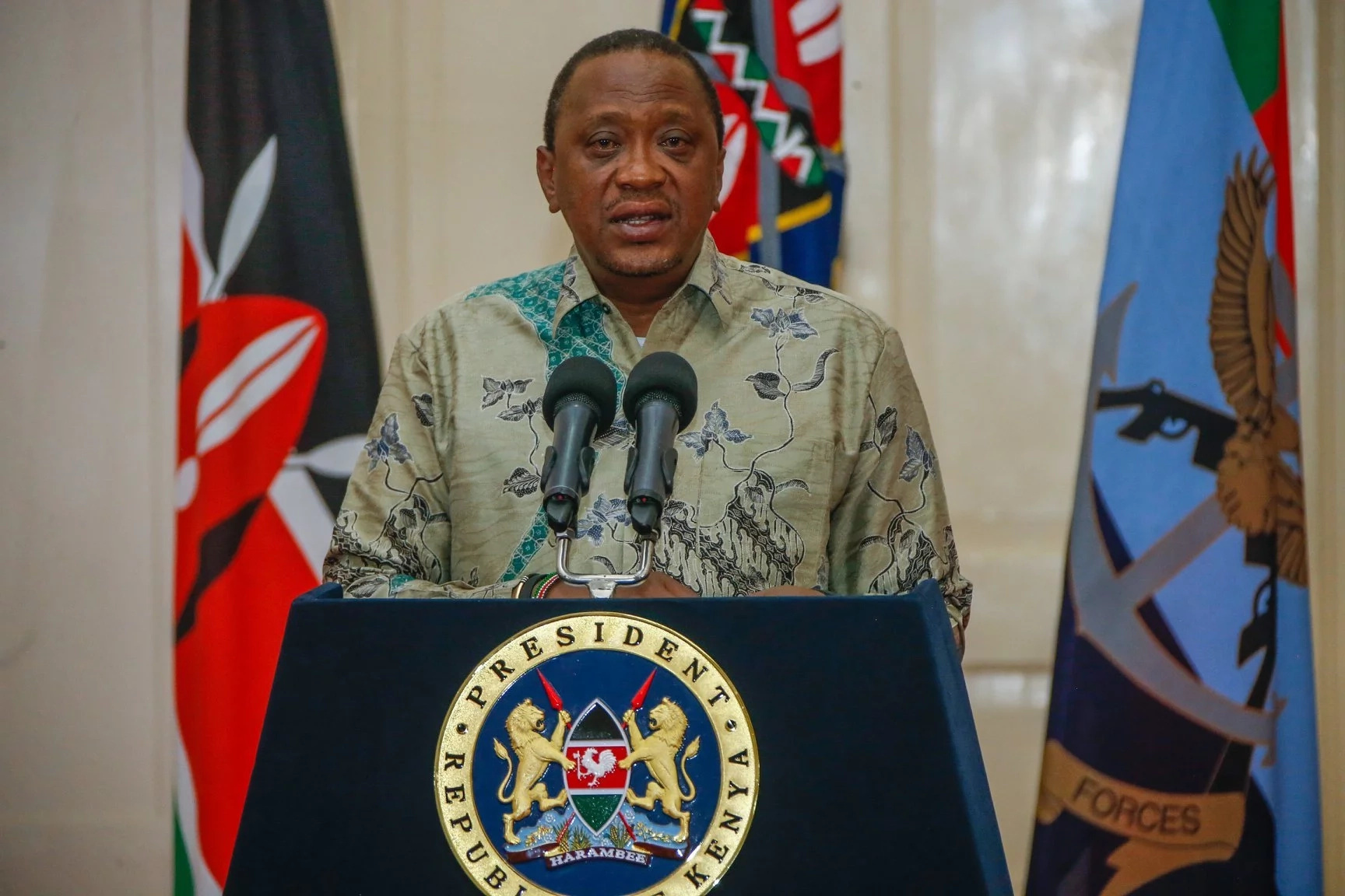 Pack and go - Uhuru orders journalists out of his event