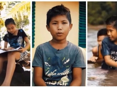 Batang Maestro! Inspiring story of a 12-year-old boy who uses a raft to teach other kids who doesn't know how to read