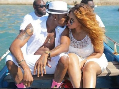 Even after the Hamisa Mobeto drama, Diamond shows he is still crazy with passion for Zari Hassan