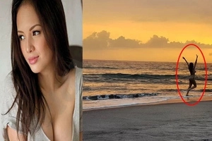 Mapangahas talaga 'tong si Ellen! Find out why Ellen Adarna is running naked on the beach!