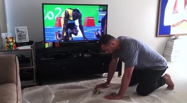 Conozca al hombre que es más veloz que Bolt