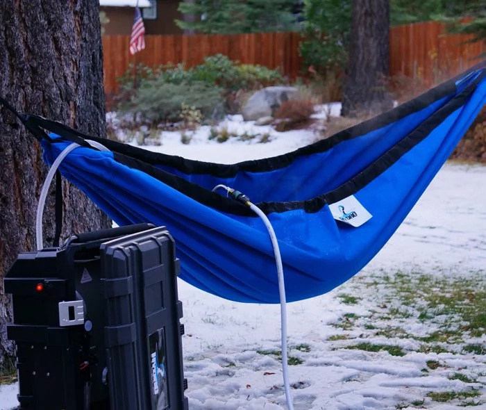 WATCH: This hammock will take your relaxation to a new level