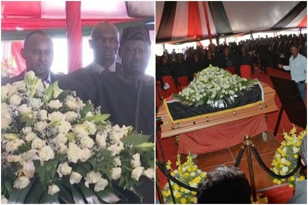 Raila Oding's glowing tribute to the late Governor Gachagua