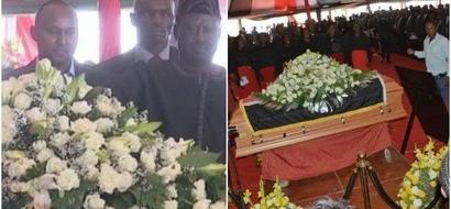 Raila Odinga's GLOWING tribute to the late Governor Gachagua