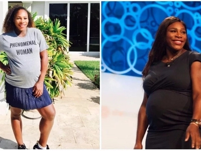 Equality now! Serena Williams calls for black women to be paid equally as their male counterparts
