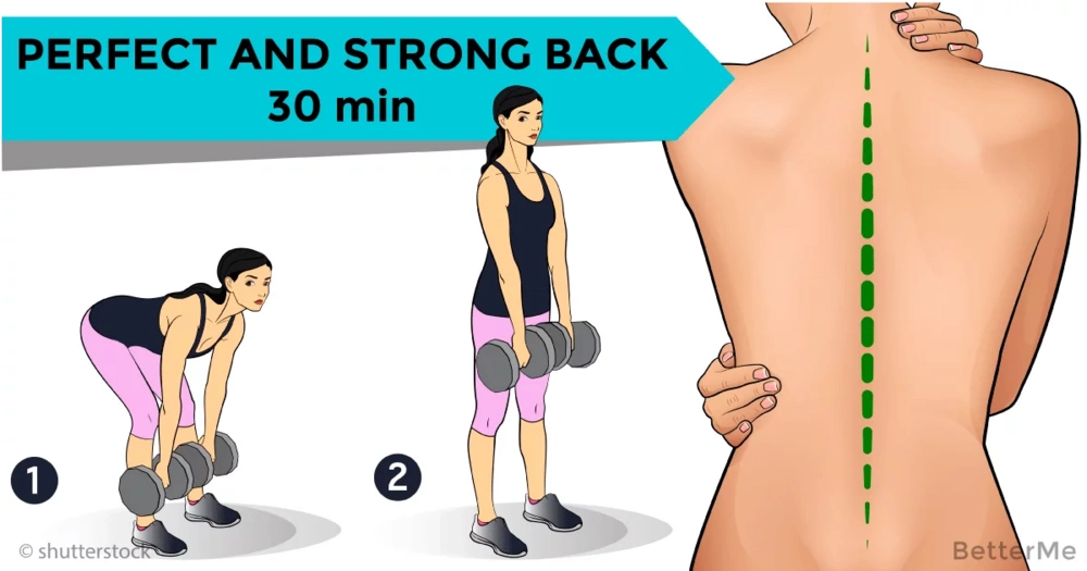 30 minutes workout program for a seductive back