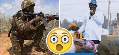 Serikali iliwatuma maafisa 8 wa kikosi hatari kumua Raila? Huu hapa ukweli