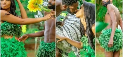 Watch: Eric Omondi and his HOT GIRLFRIEND release the anticipated video of 'Adam and Eve'