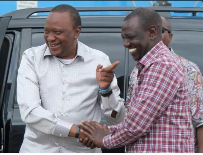 RUTO dismisses claims he's mad at Uhuru after cabinet shuffle