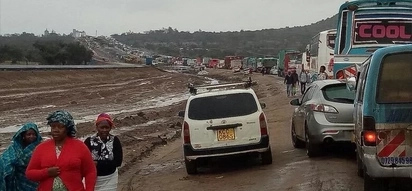 Motorists spend night on Mombasa road, students stranded as rains come with mixed fortunes