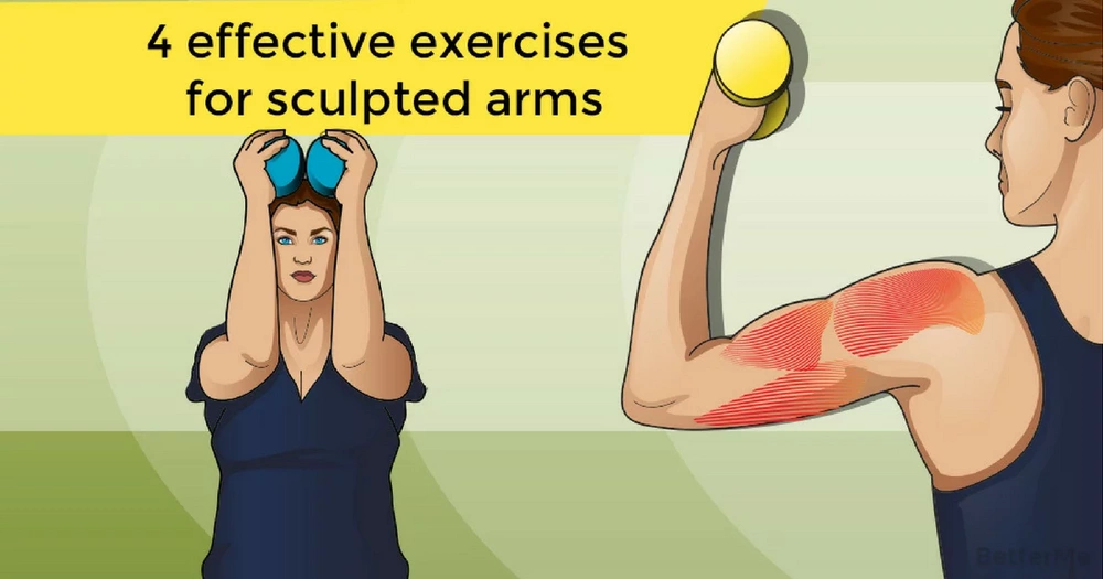 4 effective exercises for sculpted arms