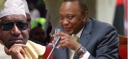 Uhuru amuumbua Joho katika kampeni yake ya mwisho Mombasa