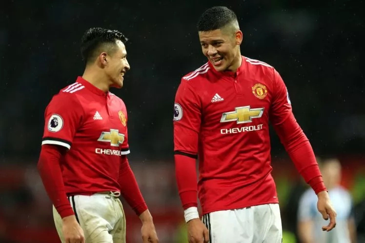 Marcos Rojo delighted to have Alexis Sanchez at Manchester United