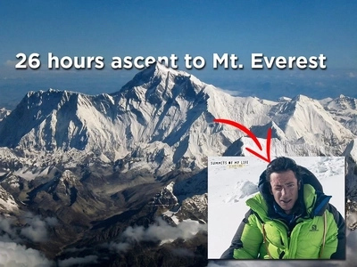 Kílian Jornet, The Man Who Climbed Mt. Everest In Just 26 hours