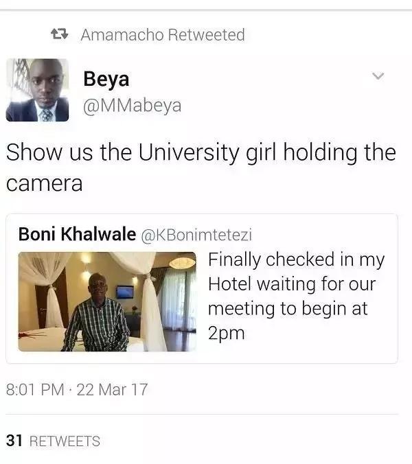 Wakenya wanataka kuona Mpango wa Kando wa Boni Khalwale baada ya seneta huyo kuweka hii picha mtandaoni