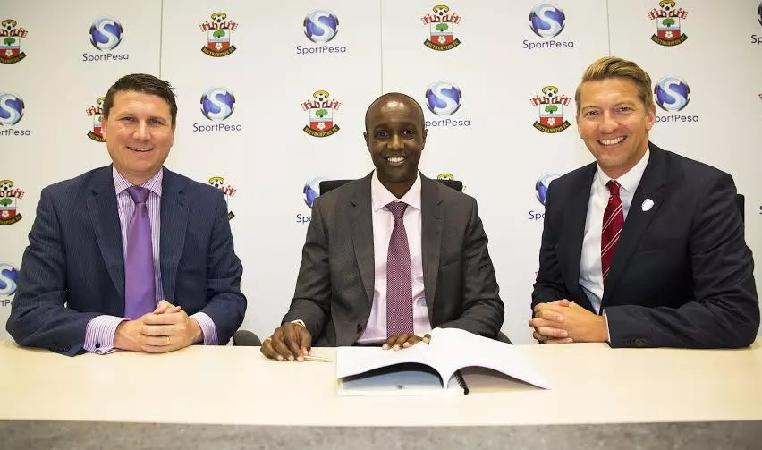 Sportpesa lands 3-year partnership deal with Southampton