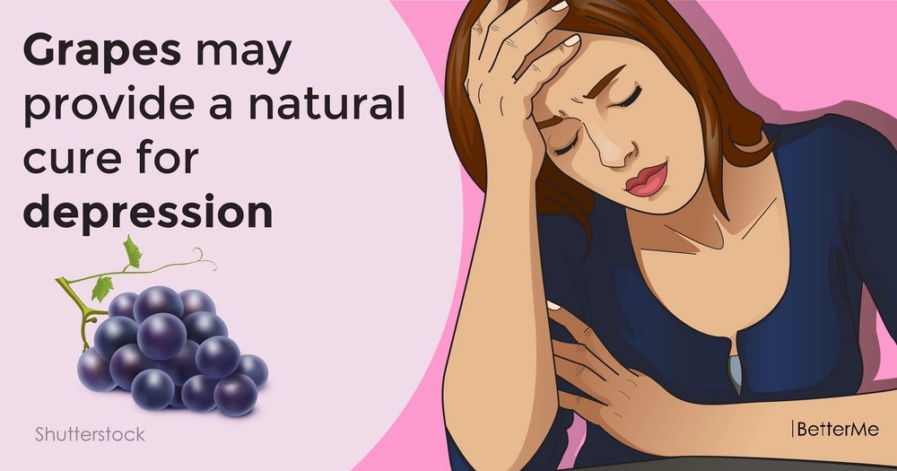 Grapes may provide a natural cure for depression