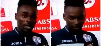 Two goals, two girls! Footballer accidentally thanks his wife and GIRLFRIEND in speech blunder (photos, video)