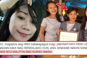 'Wag kami maliitin!' HRM student educates people who always use 'HRM lang' when referring to her course. This will definitely make your day!